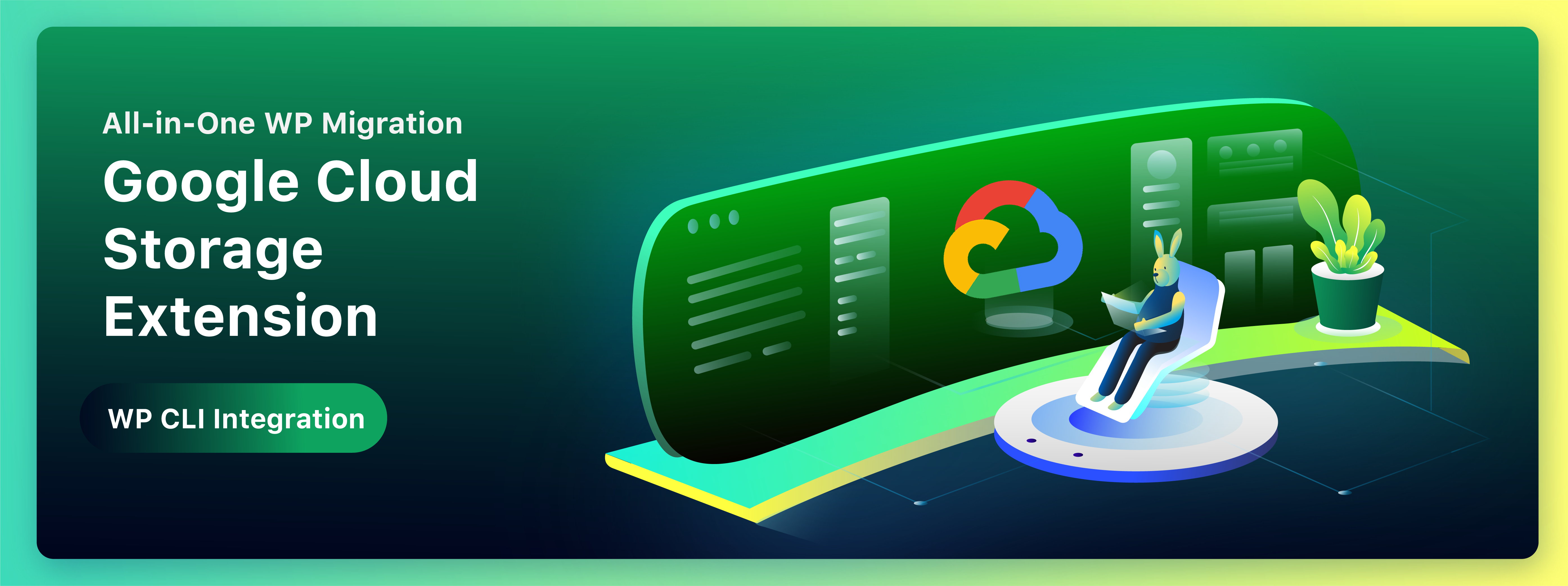All-in-One WP Migration Google Cloud Storage Extension WP